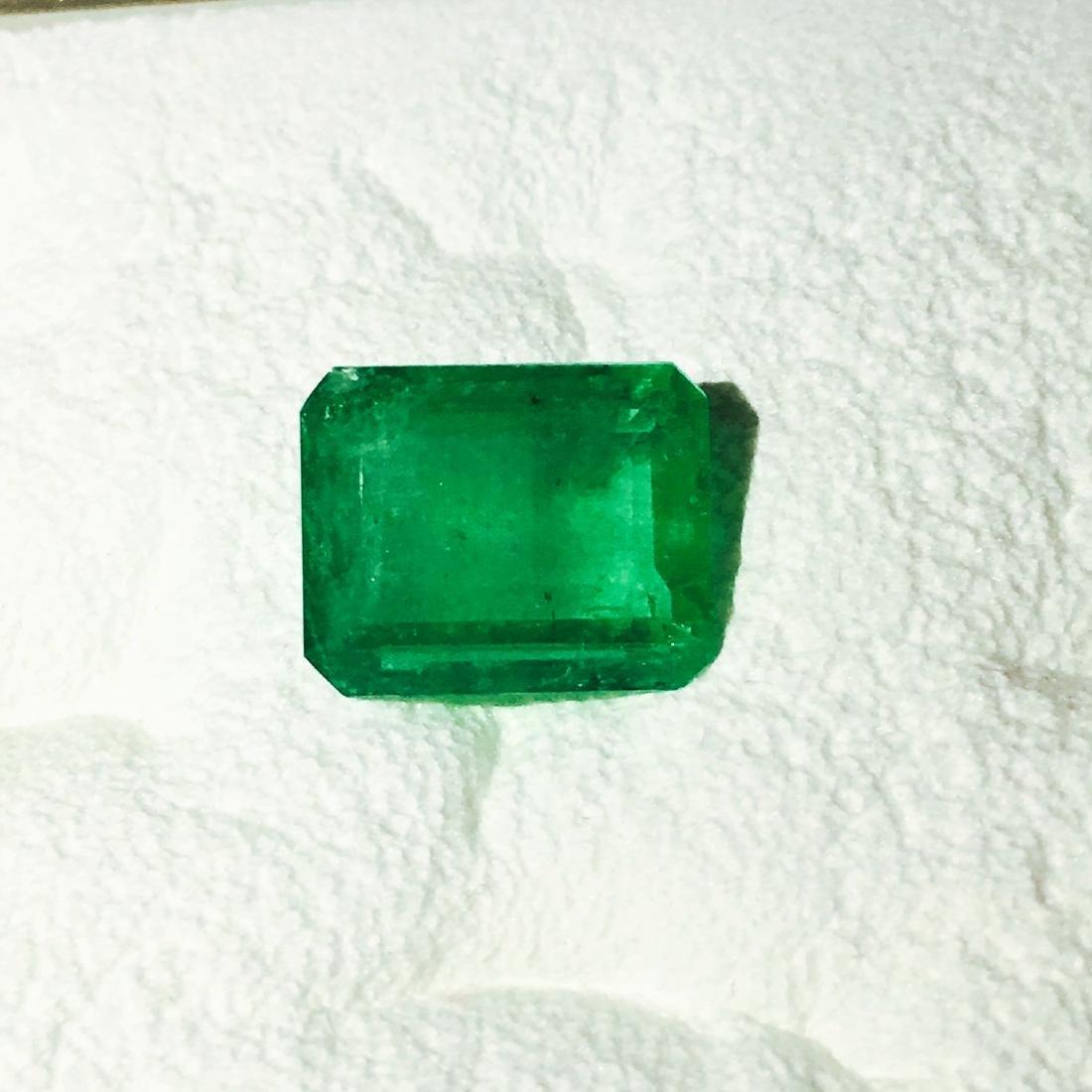7.30 Carat, 100% Natural Colombian Emerald