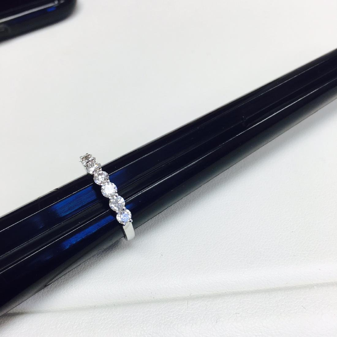VVS Clarity and F Color Diamond Engagement Ring - 2