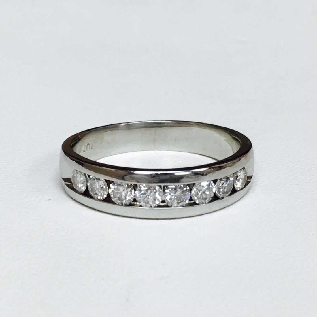 Platinum Diamond Band HIGH QUALITY DIAMONDS