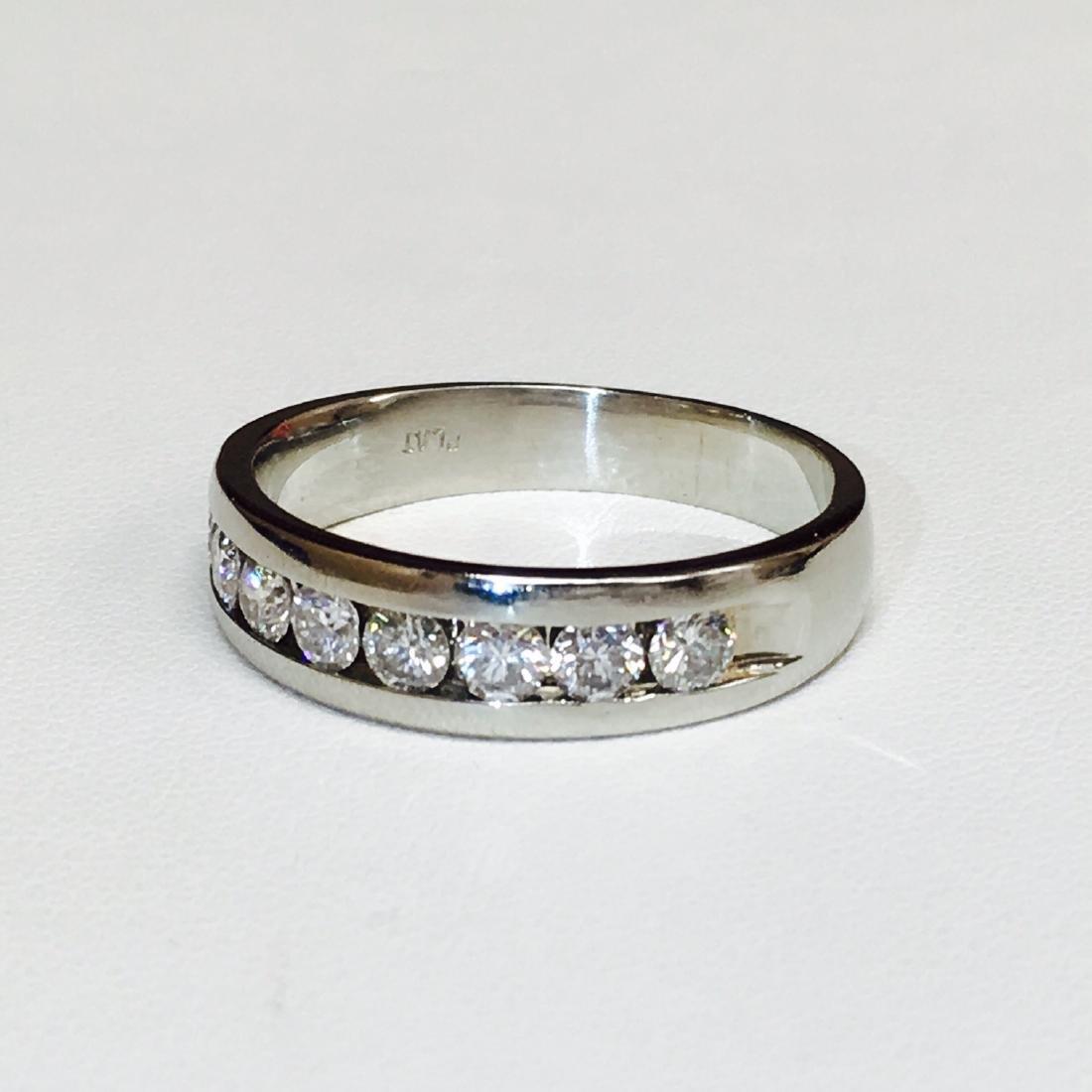 Platinum Diamond Band HIGH QUALITY DIAMONDS - 2