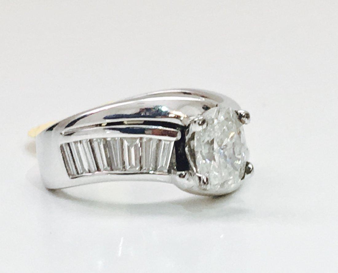 14K GOLD, 2.60 CARAT DIAMOND ENGAGEMENT RING - 2