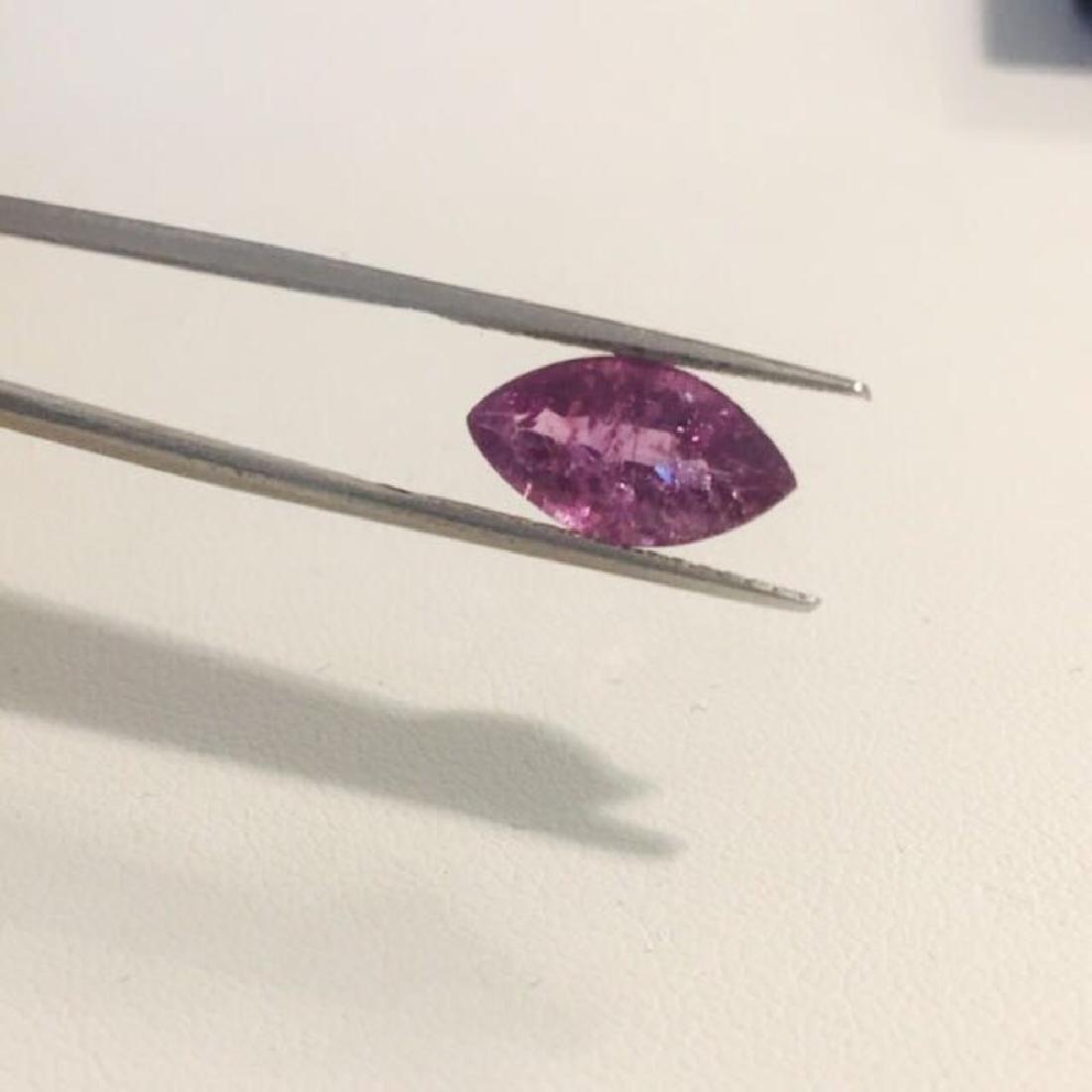 3.75 carat purple sapphire