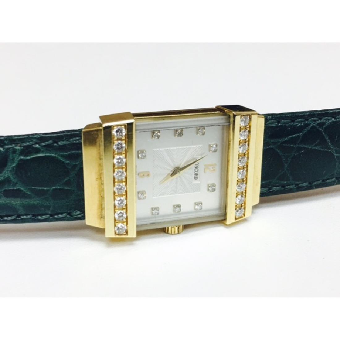 Concord Crystale 18K Gold VVS DIAMONDS Watch - 2