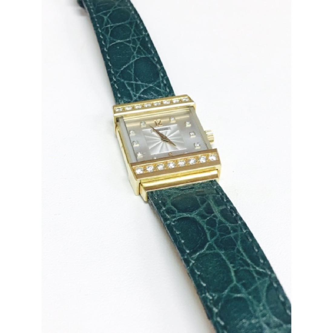 Concord Crystale 18K Gold VVS DIAMONDS Watch - 3