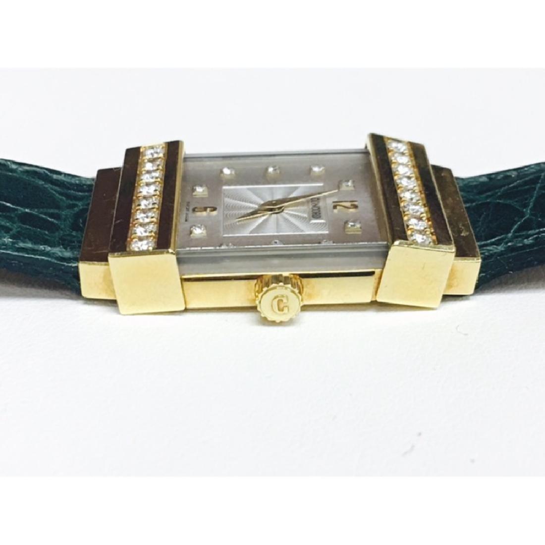 Concord Crystale 18K Gold VVS DIAMONDS Watch - 4