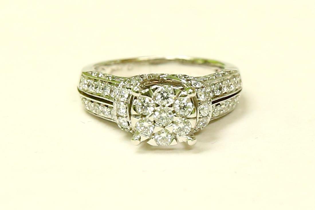 14K Gold, 2.00 Carat VS Diamond Engagement Ring