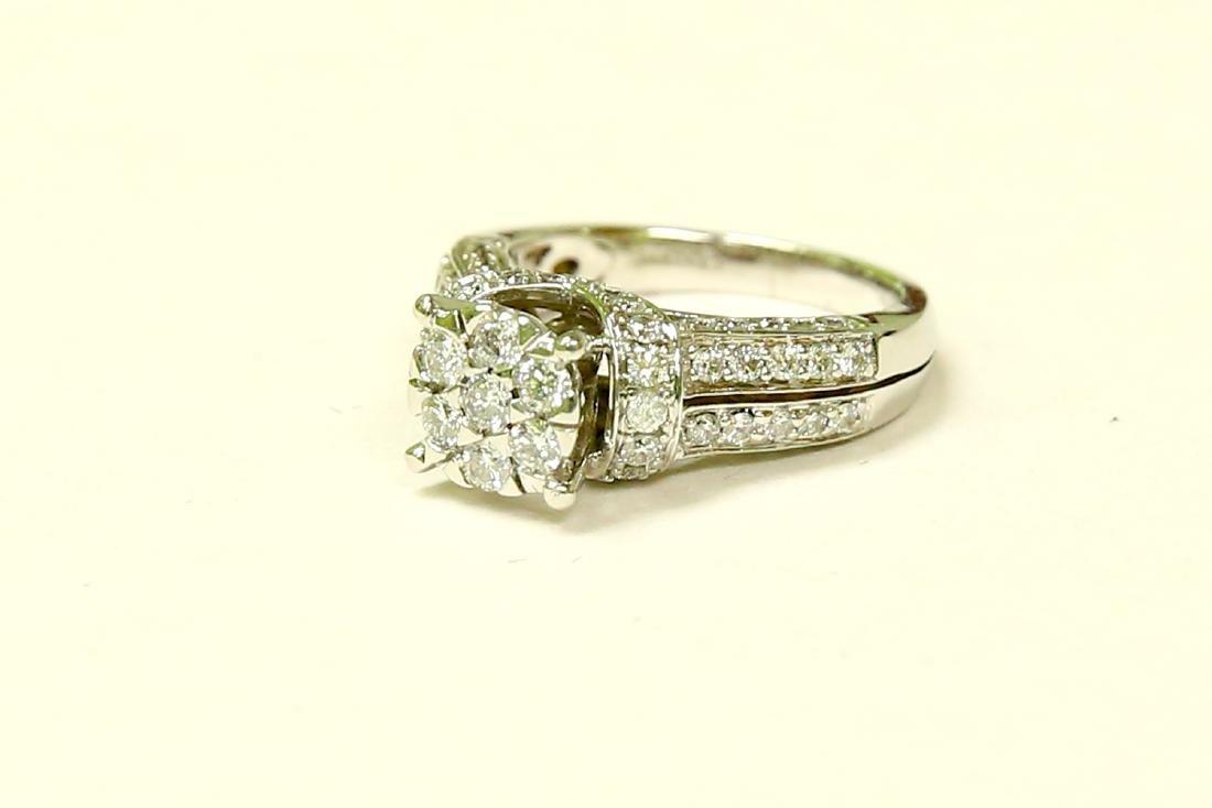 14K Gold, 2.00 Carat VS Diamond Engagement Ring - 3