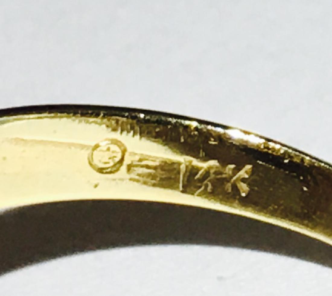 14K Gold, Cocktail RUBY& DIAMOND Ring - 5