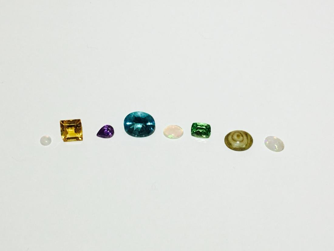 13.35 Mix Gemstone lot. Opal, Citrine, Peridot and more