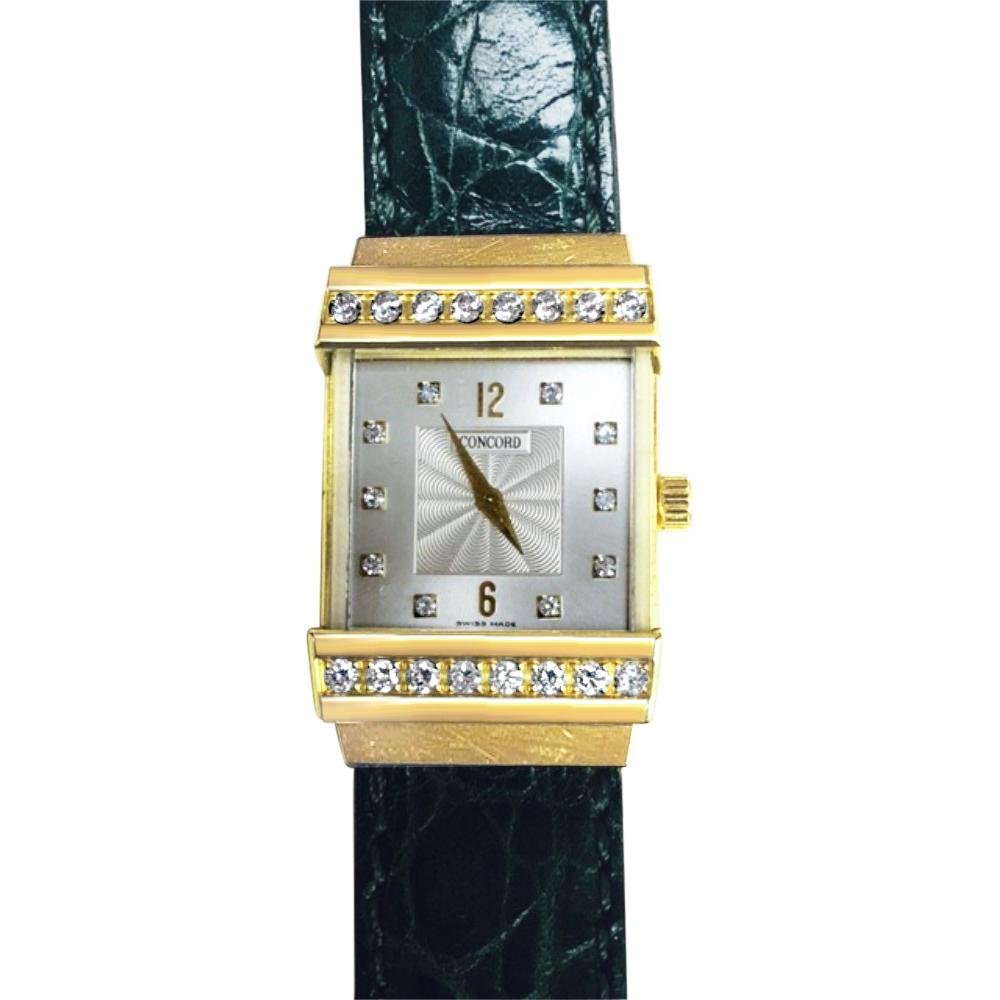 Concord Crystale Ladies Watch, 18k Gold &VVS Diamonds