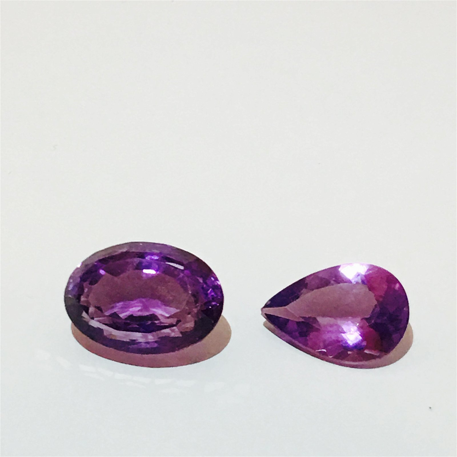 15.55 carat Amethyst! 100% natural. AAA color and cut.