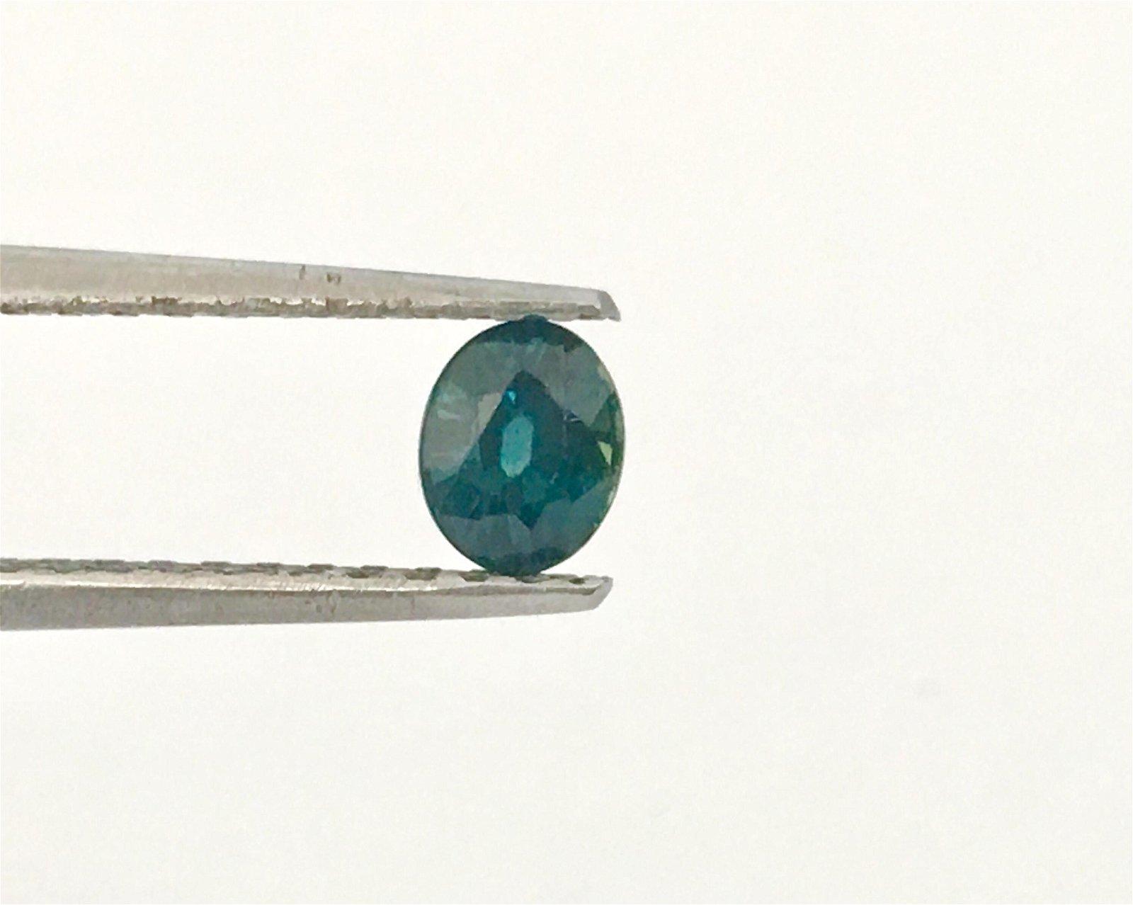 Earth Born Natural Loose 0.60CT Blue Sapphire Gemstone