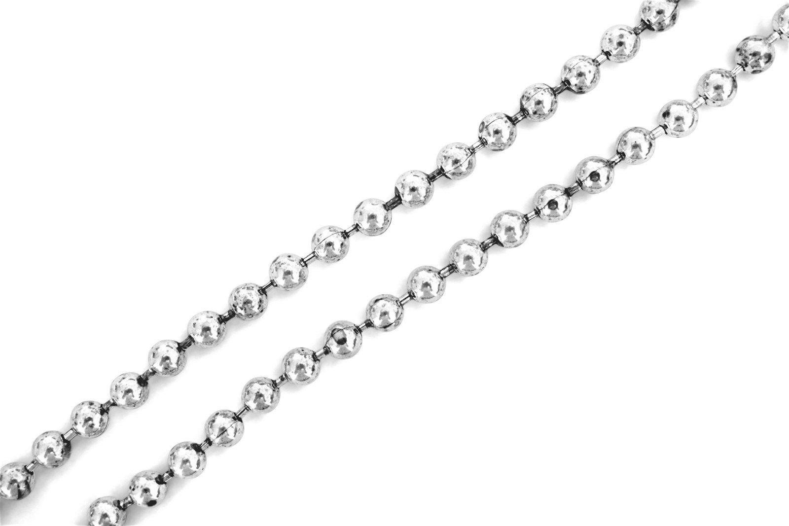 Vintage ITALIAN 925 Sterling Silver Ladies Necklace