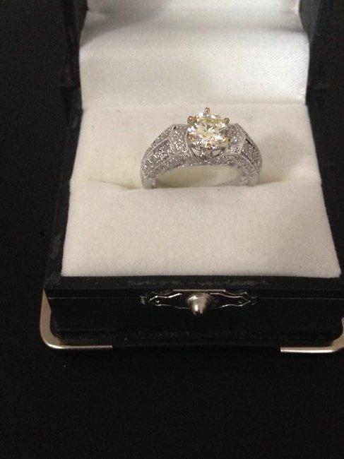 2ct Diamond Engagement Ring