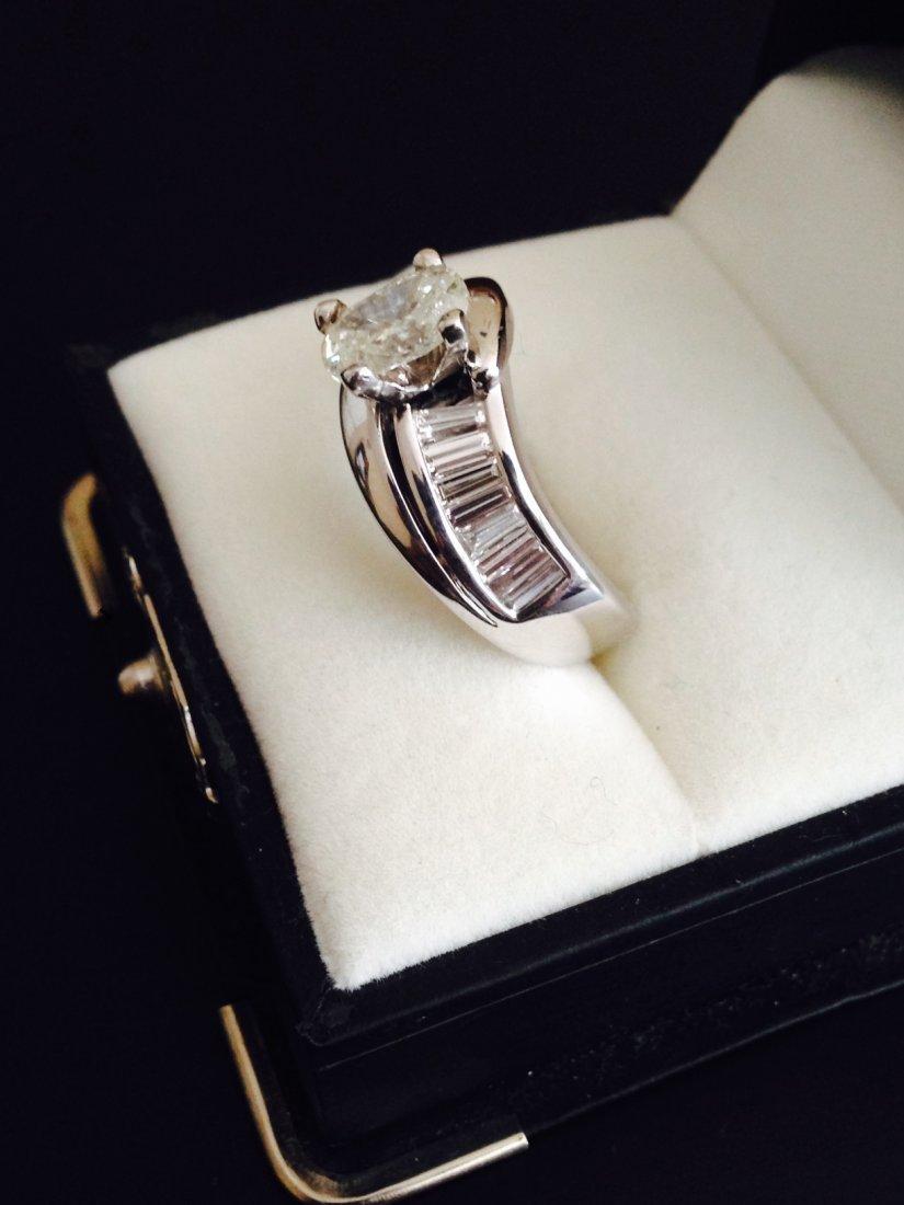 Diamond Engagment Ring 2.6 ct Diamond
