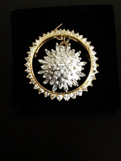 Diamond Pin And Pendant