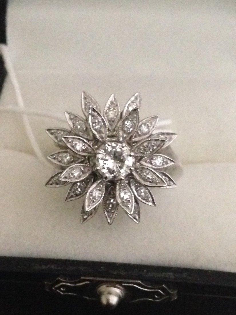 14K Gold Beautiful Diamond Cocktail Ring