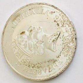 Australia Kookaburra Silver Coin