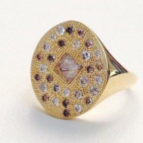 De Beers Talisman Ring In Yellow Ring