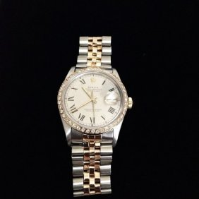 Rolex Datejust W/ Roman Dial