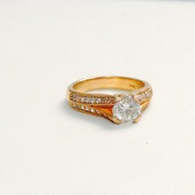 1.55ct Diamond Engagement Ring *certified*
