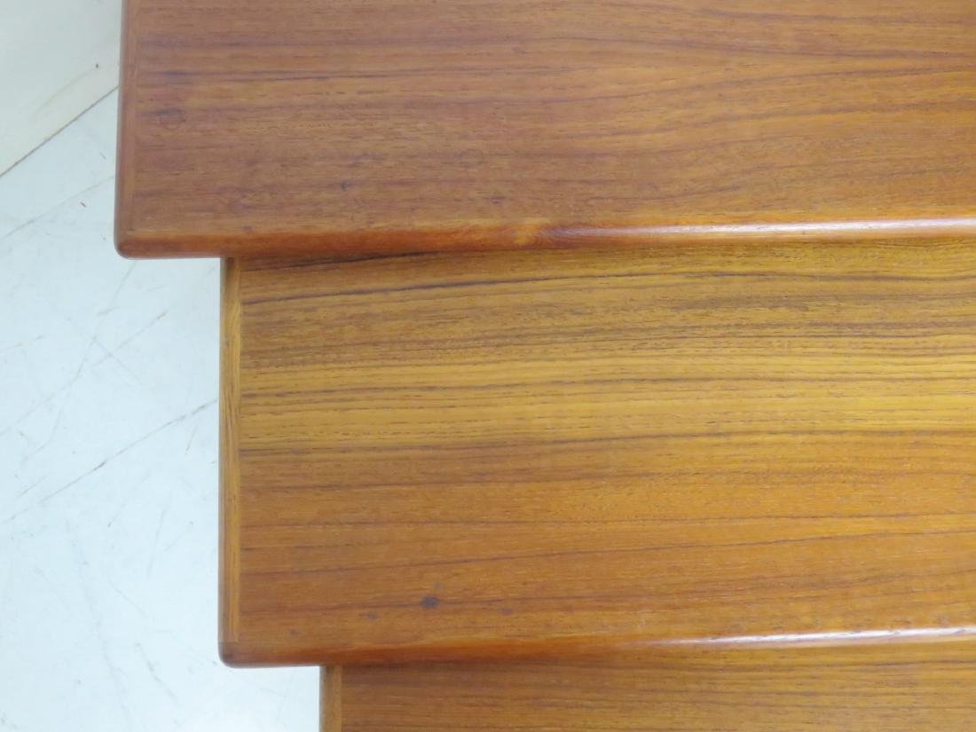 DANISH MODERN TEAK NESTING TABLES - 3