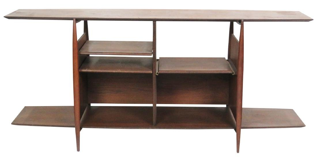 GEORGE JENSON STYLE TEAK SERVER/BAR