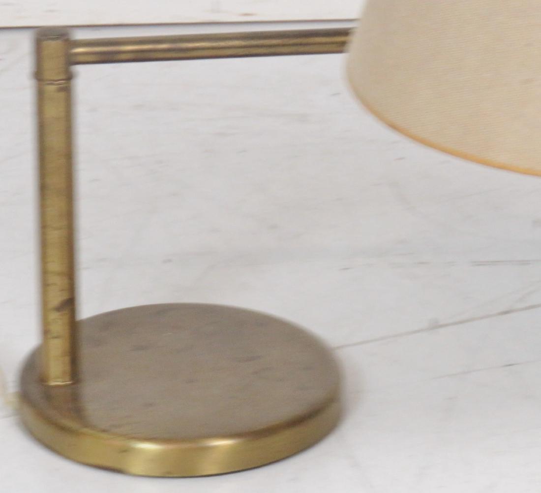 NESSEN BRASS SWIVEL TABLE LAMP - 3