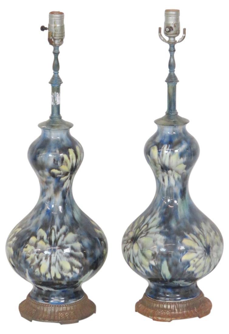 Pair MODERN DESIGN TABLE LAMPS