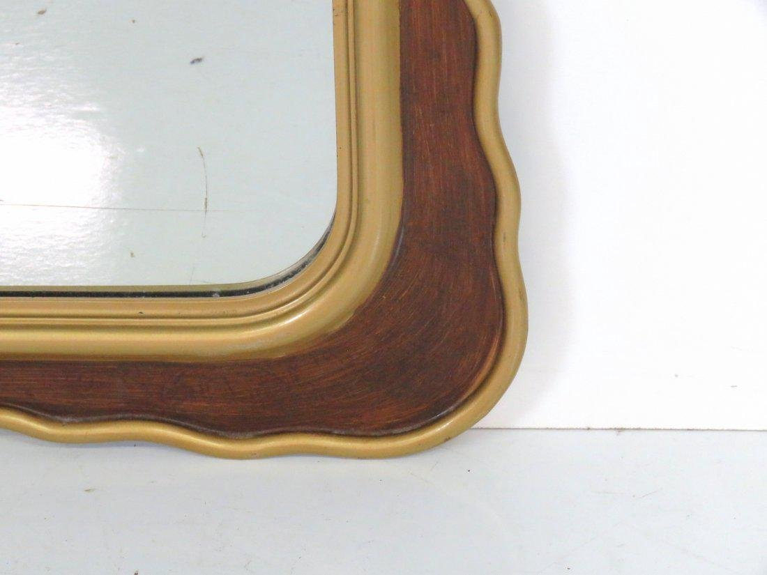 "Pair CONTEMPORARY 53"" X 28"" GILT MIRRORS - 2"