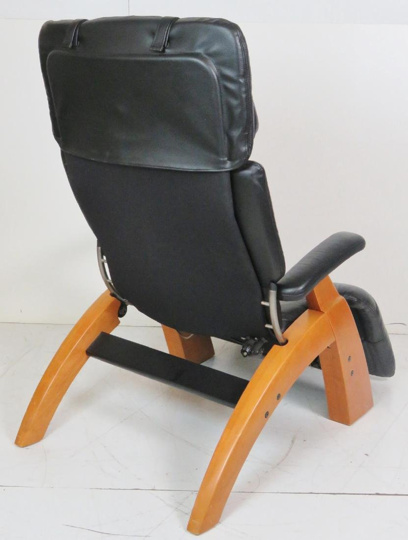 HUMAN TOUCH LEATHER ZERO GRAVITY LOUNGE CHAIRS - 5