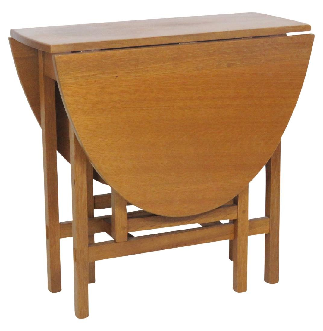 LIMBERT OAK DROPLEAF TABLE