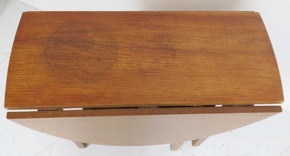 LIMBERT OAK DROPLEAF TABLE - 2