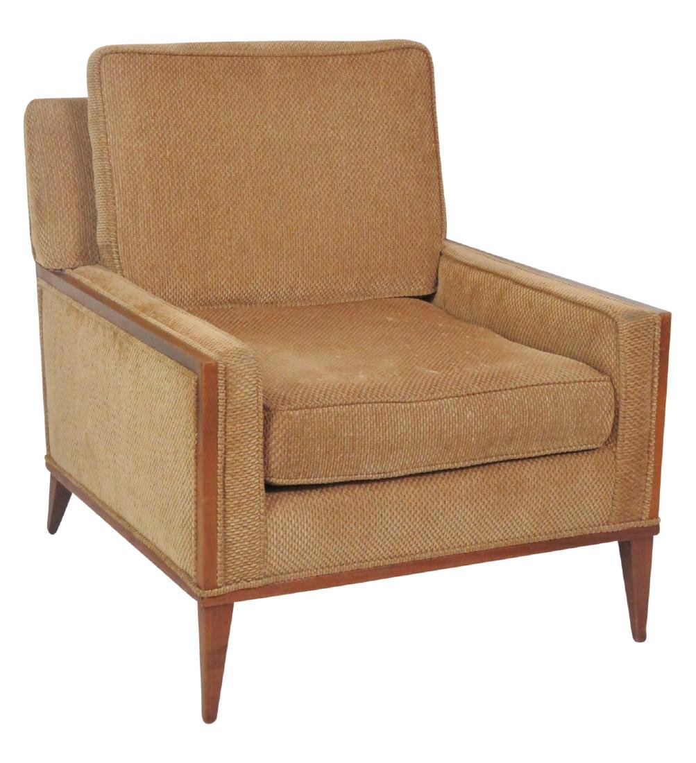 PAUL MCCOBB UPHOLSTERED LOUNGE CHAIR