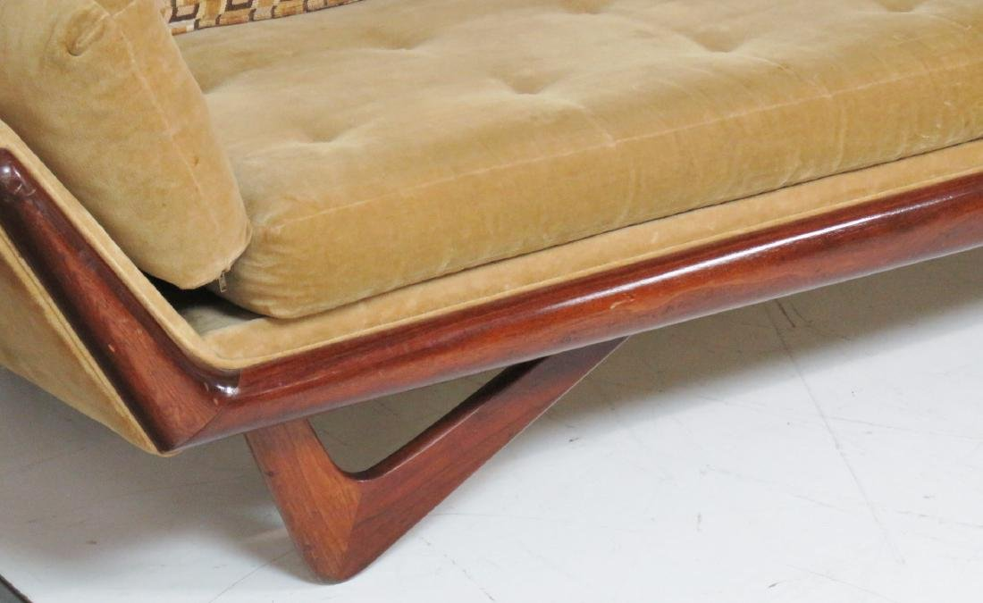 ADRIAN PEARSALL ROSEWOOD UPHOLSTERED SOFA - 3