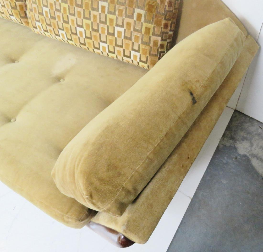 ADRIAN PEARSALL ROSEWOOD UPHOLSTERED SOFA - 5