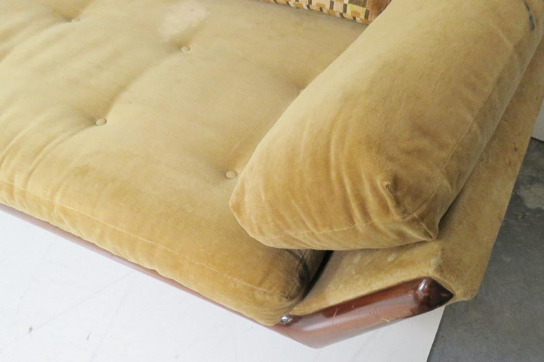 ADRIAN PEARSALL ROSEWOOD UPHOLSTERED SOFA - 6