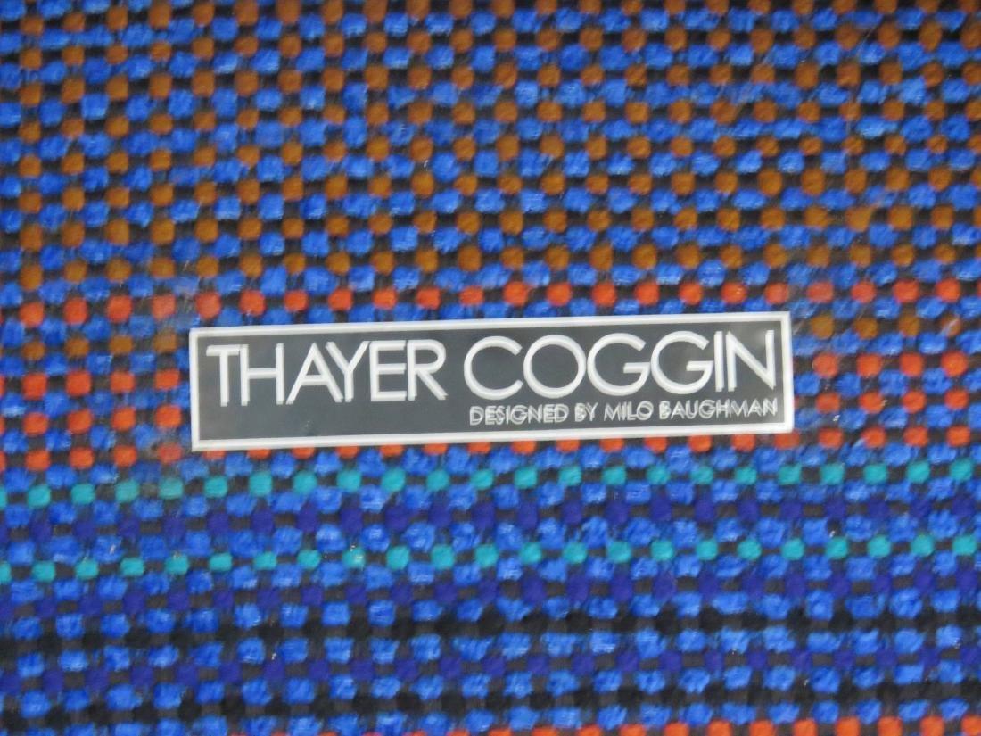 Pair MILO BAUGHMAN THAYER COGGIN SWIVEL LOUNGE CHAIRS - 4