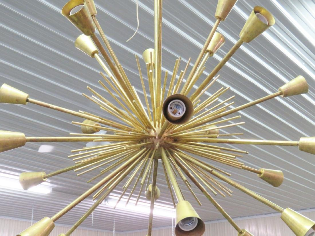 MODERN DESIGN BRASS SPUTNIK CHANDELIER - 3