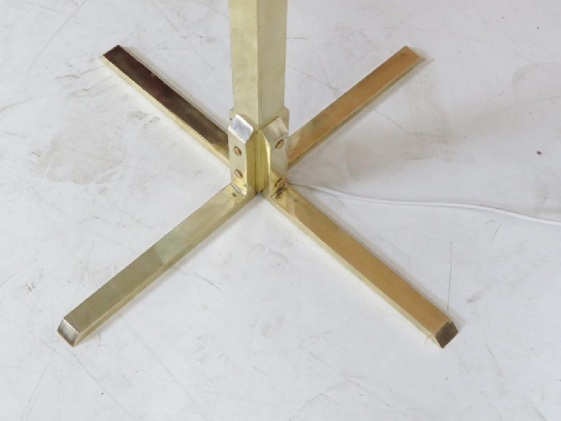 MODERN DESIGN SPACE AGED DESIGN BRASS FLOOR LAMP - 4