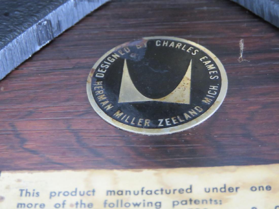 HERMAN MILLER EAMES LOUNGE CHAIR & OTTOMAN - 5