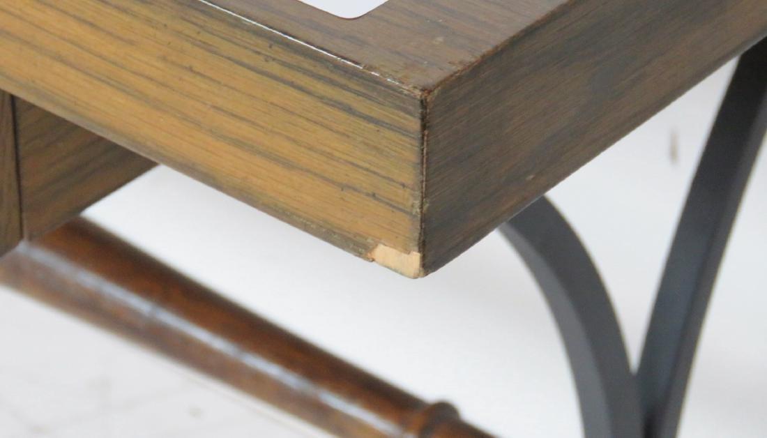 DIRECTOIRE STYLE METAL LEG CONSOLE - 7