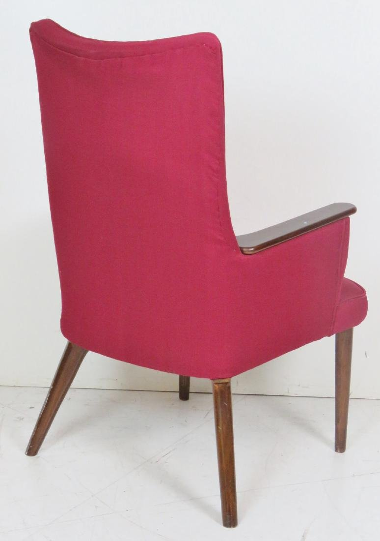Pair MODERN DESIGN UPHOLSTERED LOUNGE CHAIRS - 5