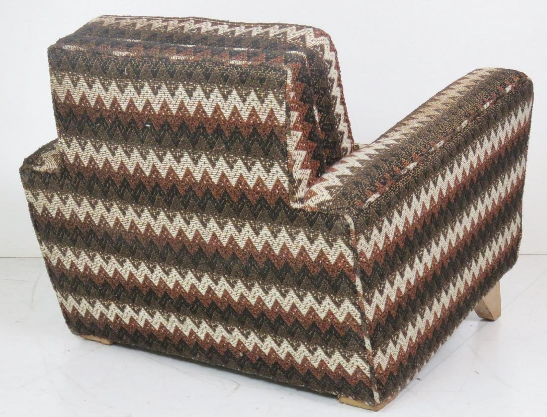 Pair MODERN UPHOLSTERED LOUNGE CHAIRS - 4
