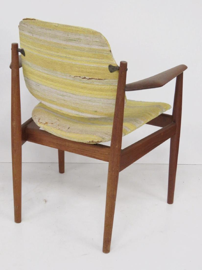 8 HOVMAND OLSEN DANISH MODERN DINING CHAIRS - 4