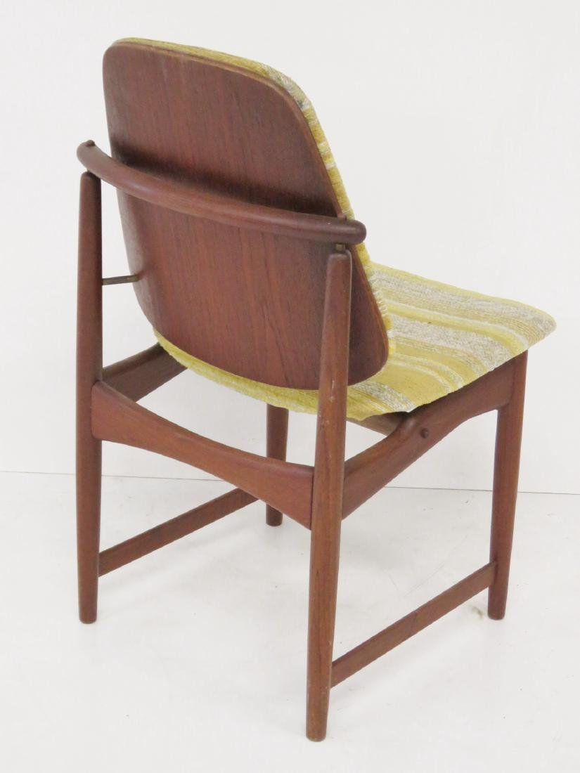 8 HOVMAND OLSEN DANISH MODERN DINING CHAIRS - 7