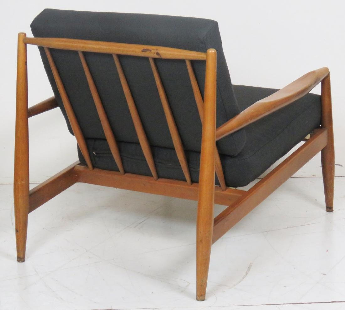 DANISH MODERN UPHOLSTERED LOUNGE CHAIRS - 4