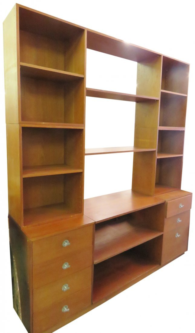 FINN JUHL TEAK WALL UNIT