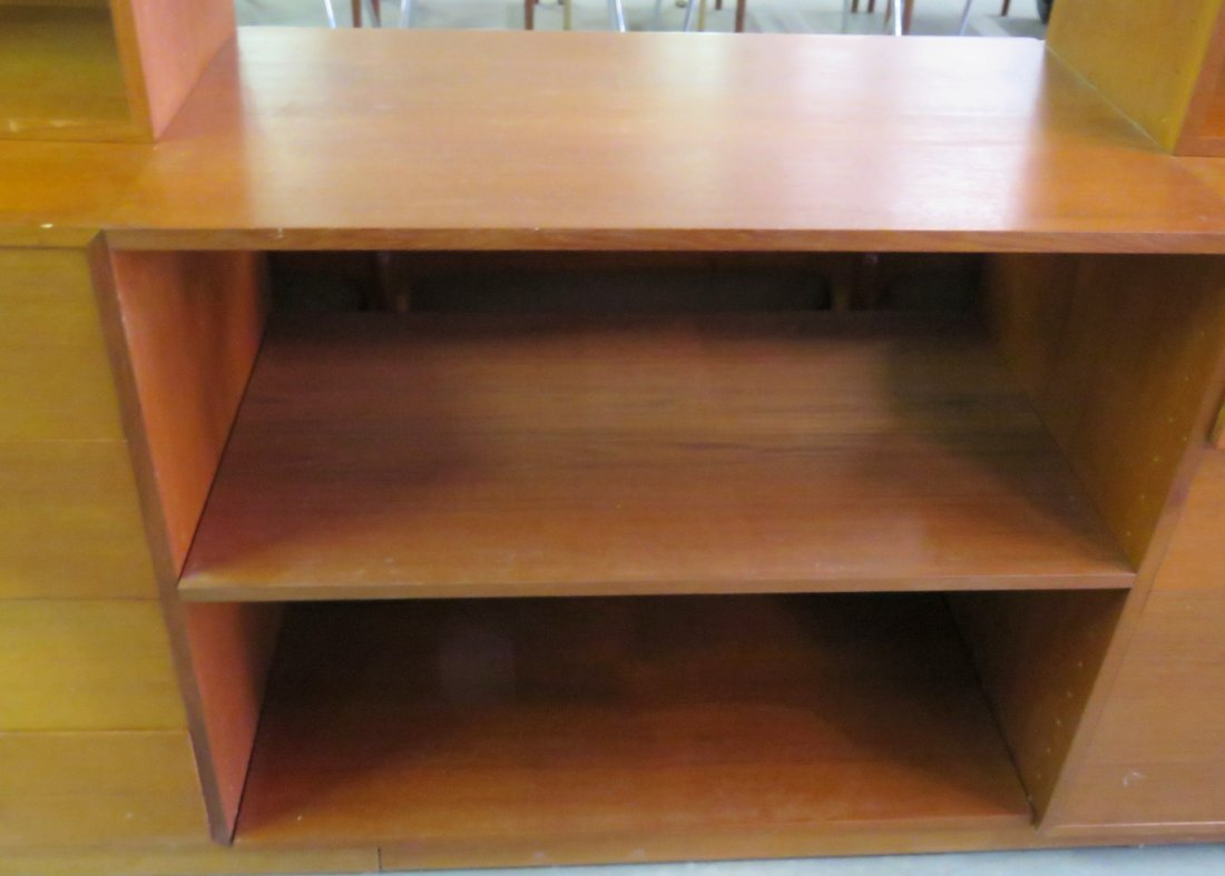 FINN JUHL TEAK WALL UNIT - 3