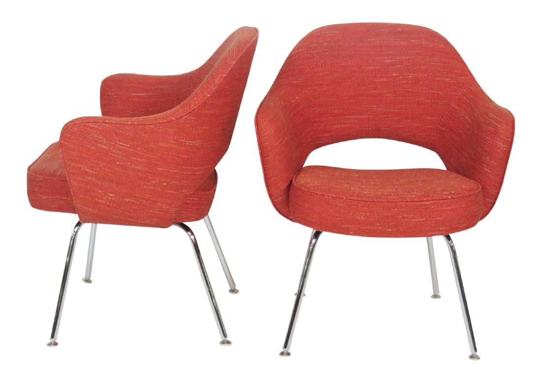 Pair SAARINEN for KNOLL EXECUTIVE CHAIRS